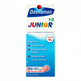 Davitamon Multivitamines and minerals junior melting tabs large (from 1 to 3 years)