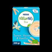 Nestle Naturnes organic wheat, oat and vanilla baby porridges (from 12 months)