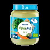Nestle Naturnes organic broccoli, parsnip and turkey baby porridges (from 8 months)