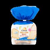 Cereal Glutenvrije en lactosevrije 3 zaden sneetjes maxi (voor uw eigen risico)