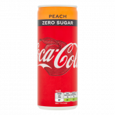 Coca Cola Perzik suikervrij blik
