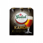Grolsch Powerful canon beer