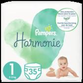 Pampers Harmonie maat 1 luiers (vanaf 2 kg tot 5 kg)