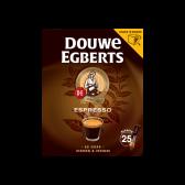Douwe Egberts Espresso sticks instant coffee