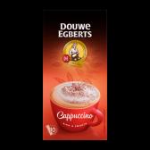 Douwe Egberts Cappuccino instant coffee