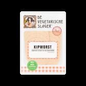 De Vegetarische Slager Kipworst (voor uw eigen risico, geen restitutie mogelijk)