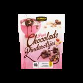 Jumbo Dark chocolate peanut rocks