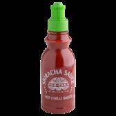 Go-Tan Sriracha hete chili saus klein