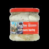 Ouwehand Zoetzure haring (voor uw eigen risico)