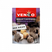 Venco Crispy and soft licorice toppers
