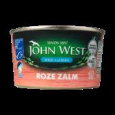 John West Wild Alaskan pink salmon MSC small