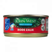 John West Wilde rode zalm MSC uit Alaska klein