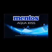 Mentos Aqua kiss Alaskan chewing gum