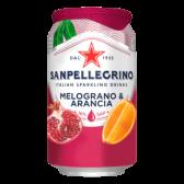San Pellegrino Melograno and arancia sparkling fruit drink