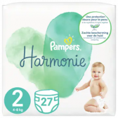 Pampers Harmonie maat 2 luiers (vanaf 4 kg tot 8 kg)