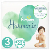 Pampers Harmony size 3 diapers (from 6 kg to 10 kg)