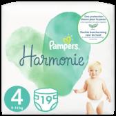 Pampers Harmonie maat 4 luiers (vanaf 9 kg tot 14 kg)