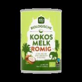 Jumbo Biologische romige kokosmelk
