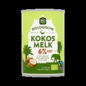 Jumbo Biologische kokosmelk 6% vet