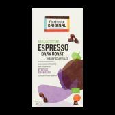 Fair Trade Original Organic espresso dark roast coffee caps