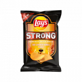 Lays Strong hot chicken wings crisps