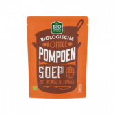 Jumbo Biologische romige pompoensoep met wortel en paprika