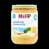 Hipp Biologische tagliatelle met groenten en vis (vanaf 8 maanden)