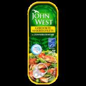 John West Smoked mackerel filets in sunflower oil