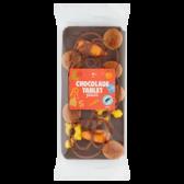 Jumbo Dark chocolate Sint bar