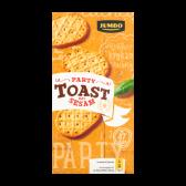 Jumbo Party toast met sesam