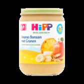 Hipp Biologische ananas en banaan met granen (vanaf 6 maanden)
