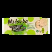 Mitsuba Wasabi knapperige rijst crackers