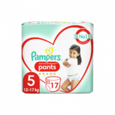 Pampers Premium protection pants size 5 (from 12 kg to 17 kg)