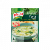 Knorr Classic soup with rice, yoghurt and mint