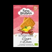 Farm Brothers Ginger lemon cookies