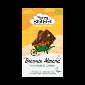 Farm Brothers Brownie amandel koekjes