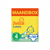 Zwitsal Maxi size 4 diapers volume pack