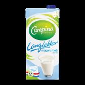 Campina Langlekker houdbare magere melk 0% vet