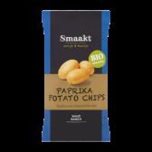 Smaakt Organic paprika potato crisps