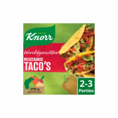 Knorr Mexican taco's world dish