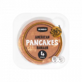 Jumbo American banana pancakes (at your own risk)