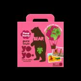 Bear Raspberry pure fruit yoyos
