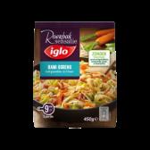 Iglo Bami goreng met groenten, ei en ham (alleen beschikbaar binnen Europa)
