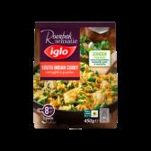Iglo Zuid Indische kerrie met groenten en kipfilet (alleen beschikbaar binnen Europa)