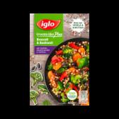 Iglo Broccoli en boekweit met wortel, zwarte bonen en paprika (alleen beschikbaar binnen Europa)