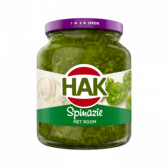 Hak Spinach with cream