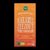 Jumbo Organic dark chocolate with caramel seasalt
