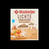 Bolletje Light spelt and oatmeal crackers