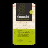 Smaakt Organic wholegrain rice waffles