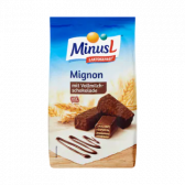 Minus L Lactosevrije melkchocolade mignon